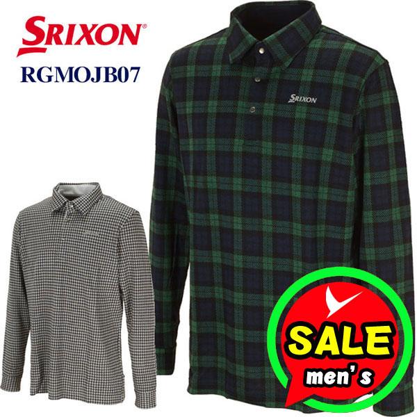 【即日発送対応】スリクソン 長袖ポロシャツ RGMOJB07