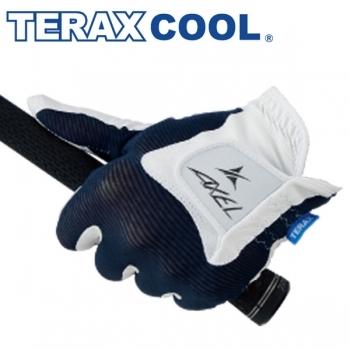 ★2枚まとめ買いで1,000円引★【即日発送対応】アクセル2019 TERAX COOL グローブ(左手用) ゴルフ
