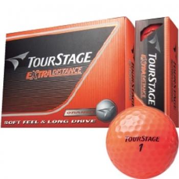 【即日発送対応】ブリヂストン ツアーステージ エクストラ ディスタンス ボール (オレンジ) 【1ダース】 ゴルフ
